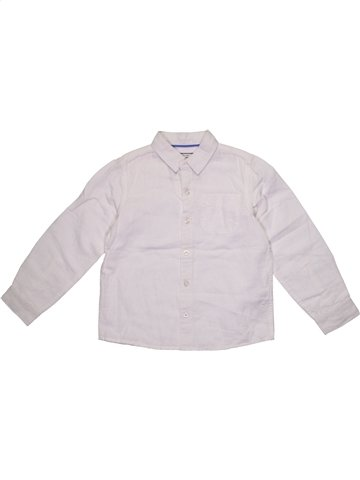 Camisa de manga larga niño MONSOON blanco 8 años verano #1199602_1