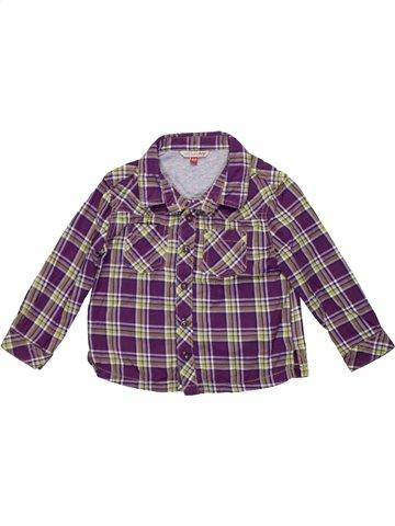 Chemise manches longues garçon JOHN LEWIS gris 2 ans hiver #1201431_1
