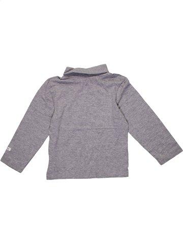 T-shirt col roulé garçon MOTHERCARE gris 3 ans hiver #1201578_1