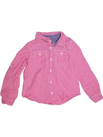 Blouse manches longues fille CHEROKEE rose 10 ans hiver #1205124_1