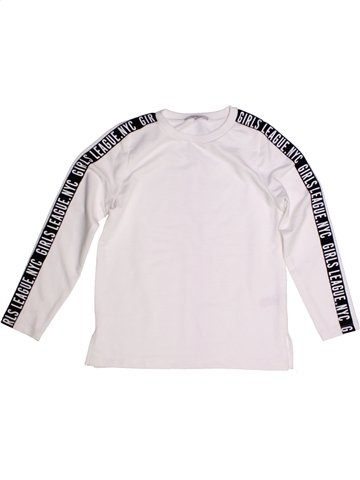 Sweat fille PEP&CO blanc 7 ans hiver #1208146_1