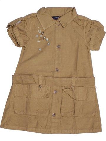 Vestido niña JEAN BOURGET marrón 2 años verano #1209343_1