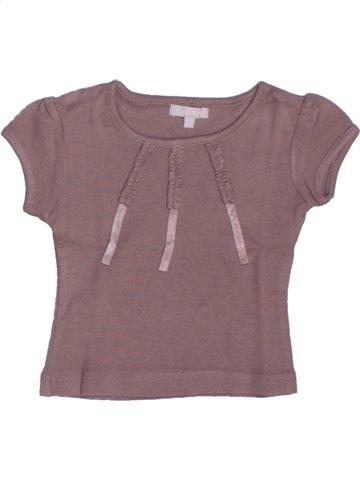 T-shirt manches courtes fille JODHPUR gris 2 ans été #1211027_1