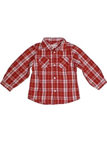 Chemise manches longues garçon KIMBALOO marron 2 ans hiver #1216737_1