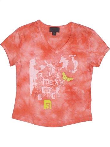 T-shirt manches courtes fille MEXX rose 7 ans été #1217704_1