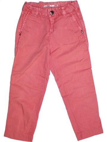 Pantalon fille DDP rose 6 ans été #1218588_1