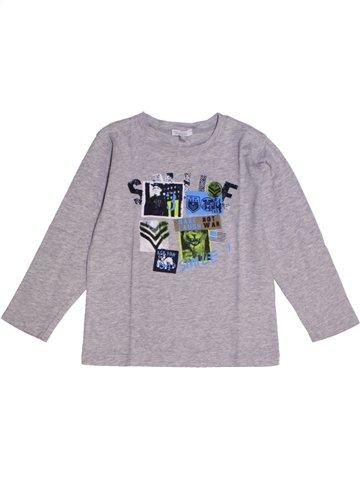 Camiseta de manga larga niño ABSORBA gris 3 años invierno #1219399_1