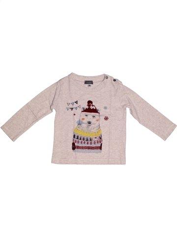 Camiseta de manga larga niño MARÈSE rosa 2 años invierno #1222344_1