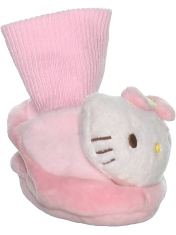 Chaussons fille HELLO KITTY rose 3 mois hiver #1223379_1