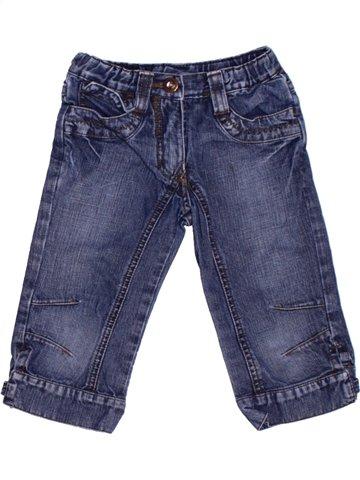 Pantalon fille JBC bleu 4 ans hiver #1225873_1