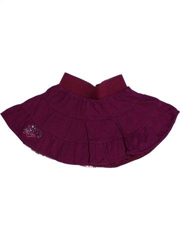 Falda niña MARÈSE violeta 2 años verano #1226407_1