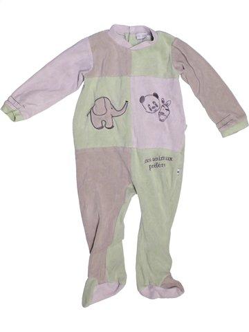 Pijama de 1 pieza niño LES KINOUSSES gris 2 años invierno #1229611_1