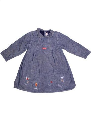 Vestido niña BERLINGOT azul 3 años invierno #1229863_1