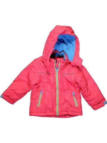 Ski fille IMPIDIMPI rose 4 ans hiver #1230407_1
