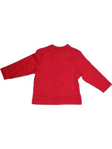 T-shirt manches longues garçon DUNNES STORES rouge 4 ans hiver #1232304_1
