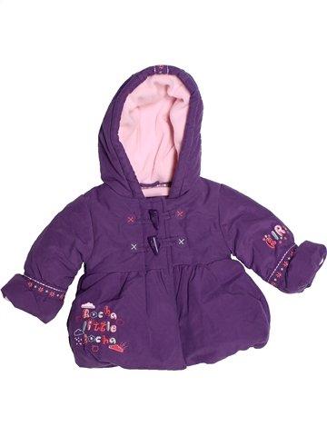 Manteau fille ROCHA LITTLE ROCHA violet 3 mois hiver #1233740_1