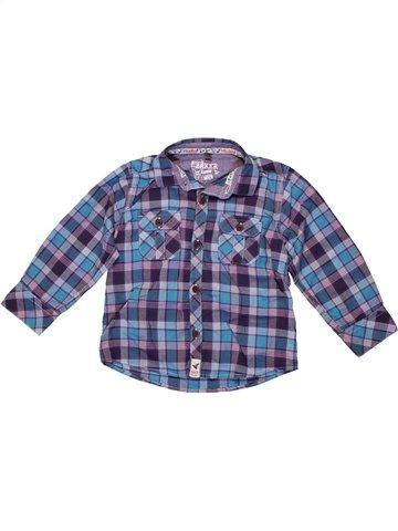Chemise manches longues garçon TED BAKER bleu 3 ans hiver #1234999_1