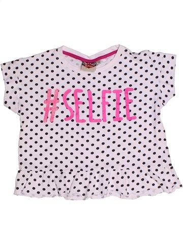 T-shirt manches courtes fille LEE COOPER blanc 12 ans été #1236869_1