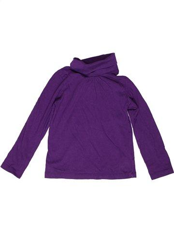 T-shirt col roulé fille LUPILU violet 6 ans hiver #1237113_1