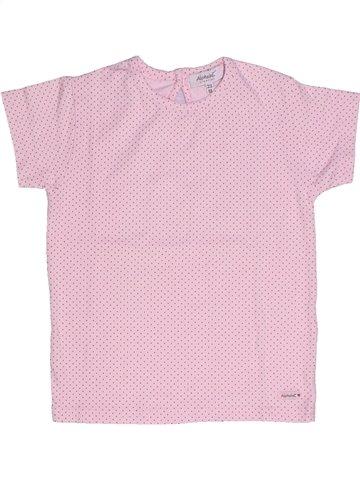 T-shirt manches courtes fille ALPHABET rose 2 ans été #1237744_1