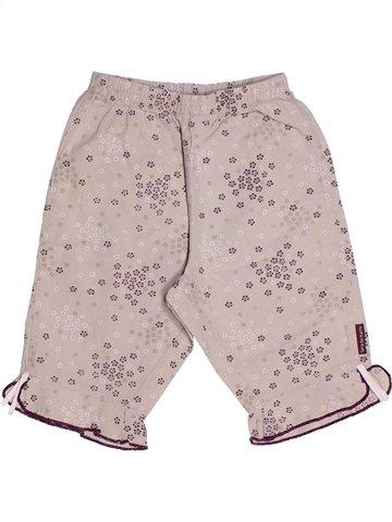 Pantalón corto niña TERRE DE MARINS blanco 2 años verano #1237748_1