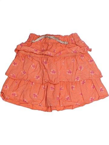 Jupe fille KIABI orange 3 ans été #1239125_1