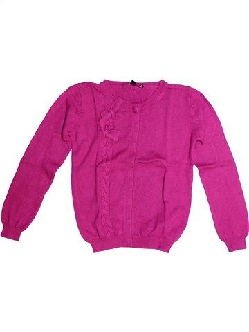 Gilet fille LILI GAUFRETTE violet 10 ans hiver #1240257_1