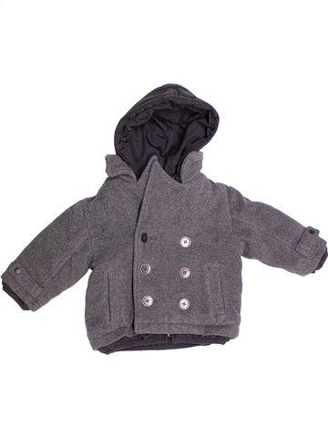 Manteau garçon PRENATAL gris 9 mois hiver #1240885_1