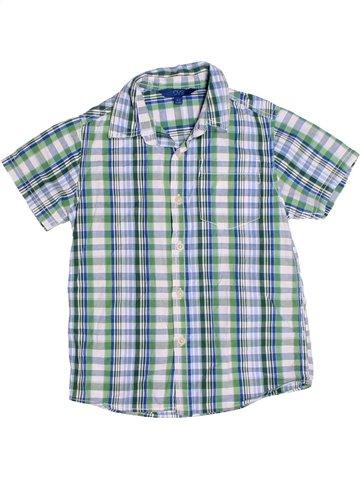 Chemise manches courtes garçon OVS bleu 7 ans été #1241288_1