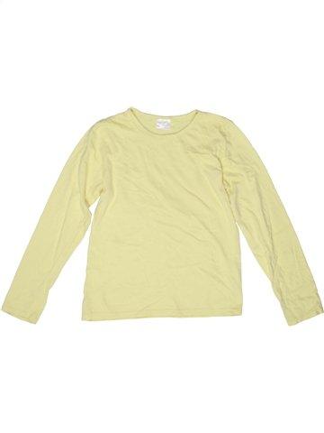 T-shirt manches longues unisexe ALIVE jaune 10 ans hiver #1243365_1