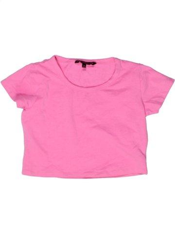 T-shirt manches courtes fille STORE TWENTY ONE rose 12 ans été #1243604_1