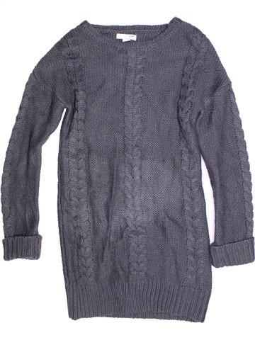 Robe fille LH BY LA HALLE bleu 12 ans hiver #1243719_1