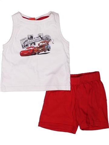 Pijama de 2 piezas niño DISNEY blanco 4 años verano #1244485_1