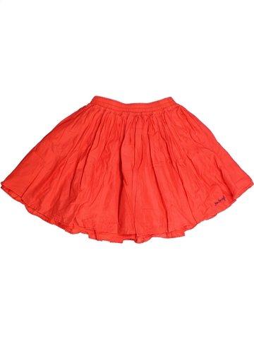Falda niña JEAN BOURGET naranja 10 años verano #1245065_1