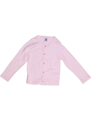 Chaleco niña PETIT BATEAU rosa 4 años verano #1245124_1