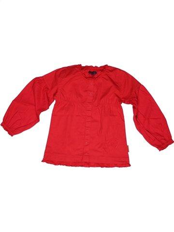 Blusa de manga larga niña TERRE DE MARINS rojo 6 años invierno #1245311_1
