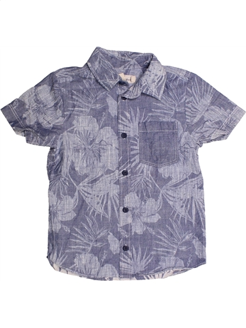 Camisa de manga corta niño H&M gris 7 años verano #1247342_1