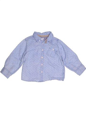 Chemise manches longues garçon MAMAS & PAPAS gris 3 ans hiver #1247485_1