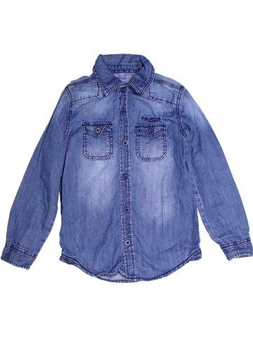 Chemise manches longues garçon DOPODOPO bleu 8 ans hiver #1247529_1