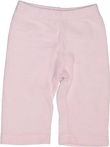 Pantalon fille IL GUFO blanc 6 mois été #1247639_1