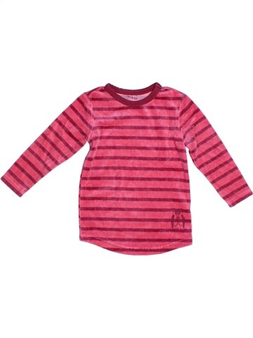 Pyjama 1 pièce fille TCHIBO rose 2 ans hiver #1247964_1
