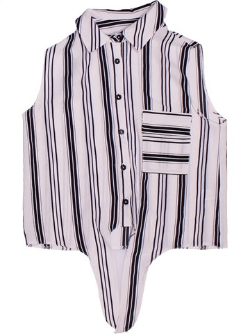 Blusa de manga corta niña KYLIE blanco 11 años verano #1248106_1