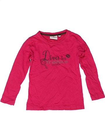 T-shirt manches longues fille TOM TAILOR rose 3 ans hiver #1249474_1