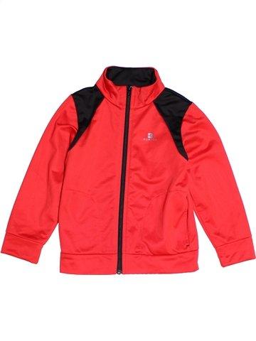 Sportswear garçon DOMYOS rouge 5 ans hiver #1250608_1