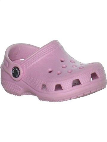 Sandales et nu-pieds fille CROCS rose 20 été #1251798_1