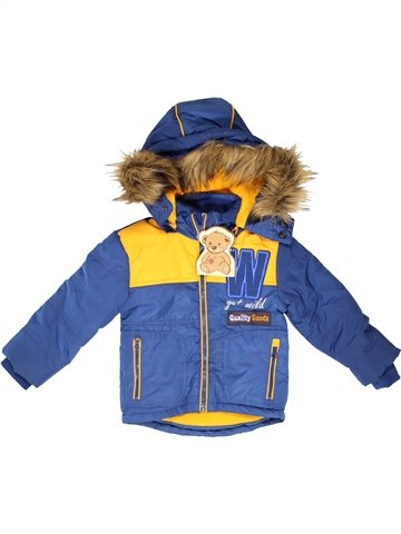 Manteau garçon MY LITTLE BEAR bleu 18 mois hiver #1252075_1