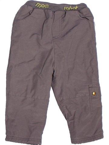 Pantalon garçon TOUT COMPTE FAIT gris 2 ans hiver #1252634_1