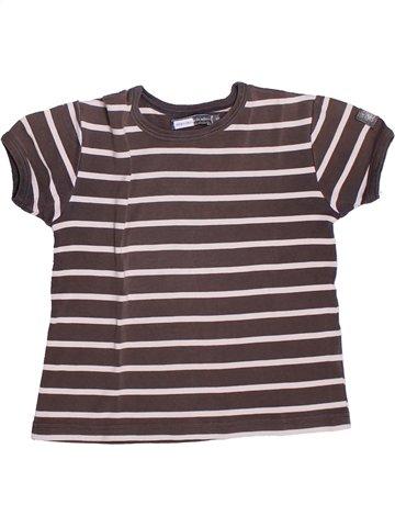 T-shirt manches courtes garçon LE PHARE DE LA BALEINE violet 8 ans été #1252765_1