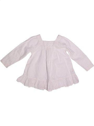 Blusa de manga larga niña CFK blanco 4 años invierno #1253031_1