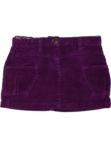 Falda niña ORIGINAL MARINES violeta 4 años invierno #1255347_1